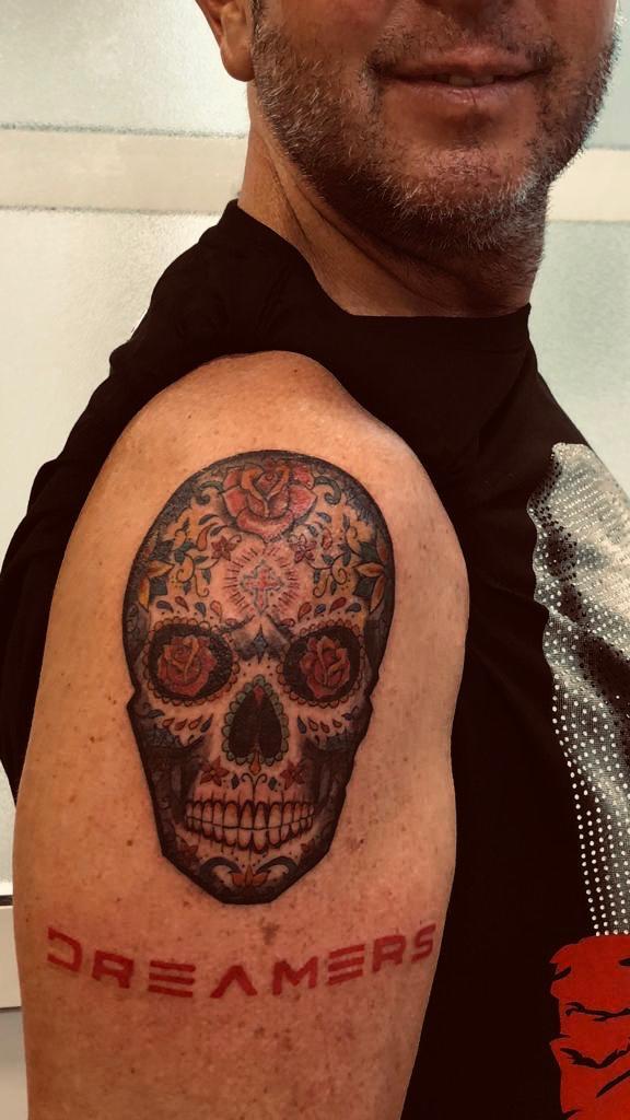 muerte dreamers tatuaje